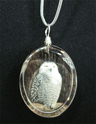 Photograph jewelry by Mary Crow