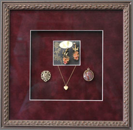 Custom Framed Jewelry