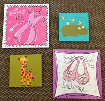 Canvas prints and children's art